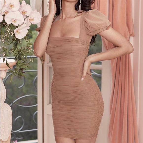 House of CB mesh dress